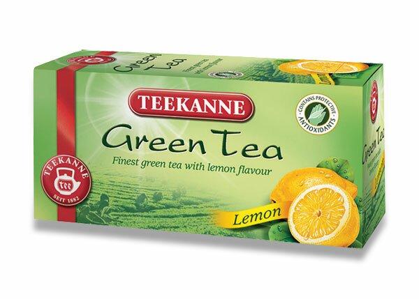 Zelený čaj Teekanne Green Tea Lemon 20 sáčků