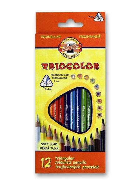 Pastelky Koh-i-noor 3132 Triocolor 12 barev