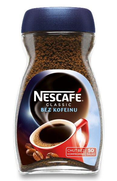 Instantní káva Nescafé Classic bez kofeinu 100 g