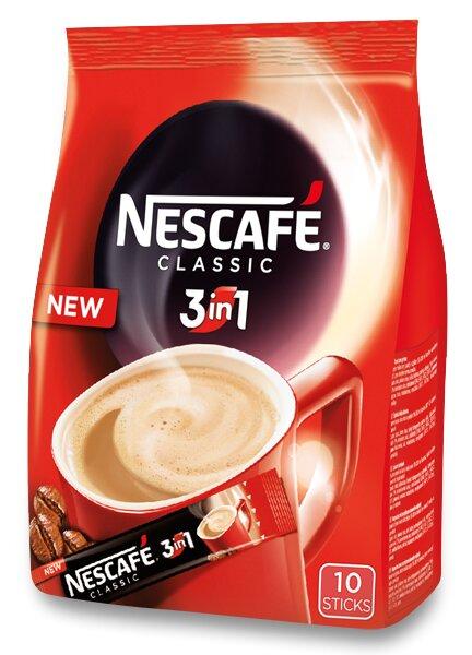 Instantní porcovaná káva Nescafé 3 v 1 10 ks