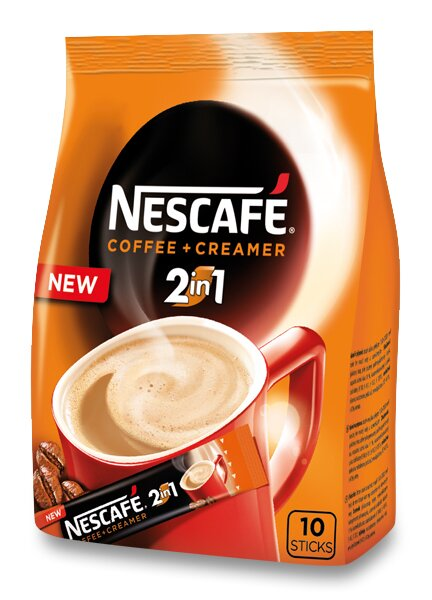 Instantní porcovaná káva Nescafé 2 v 1 10 ks