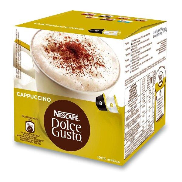 Kávové kapsle Nescafé Dolce Gusto Cappuccino 8 x káva, 8 x mléko