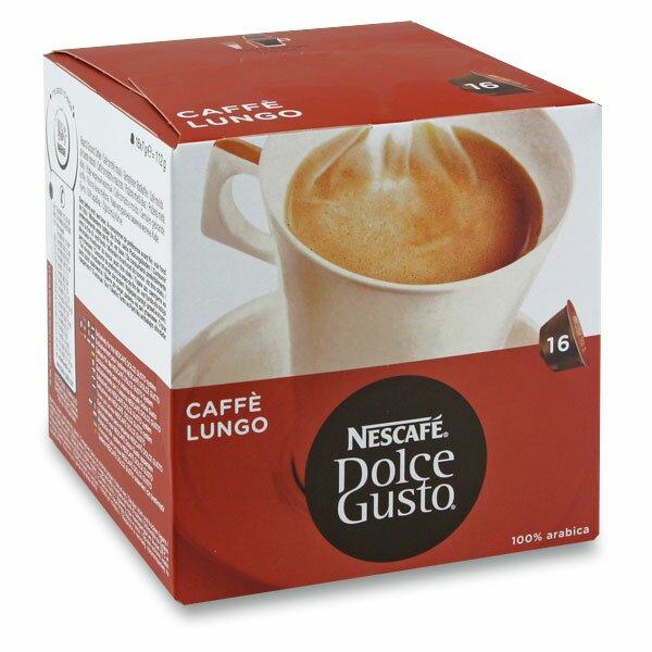 Kávové kapsle Nescafé Dolce Gusto Caffe Lungo 16 kapslí