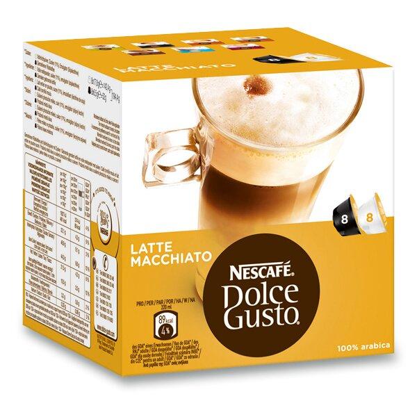 Kávové kapsle Nescafé Dolce Gusto Latté Macchiatto 8 x káva, 8 x mléko