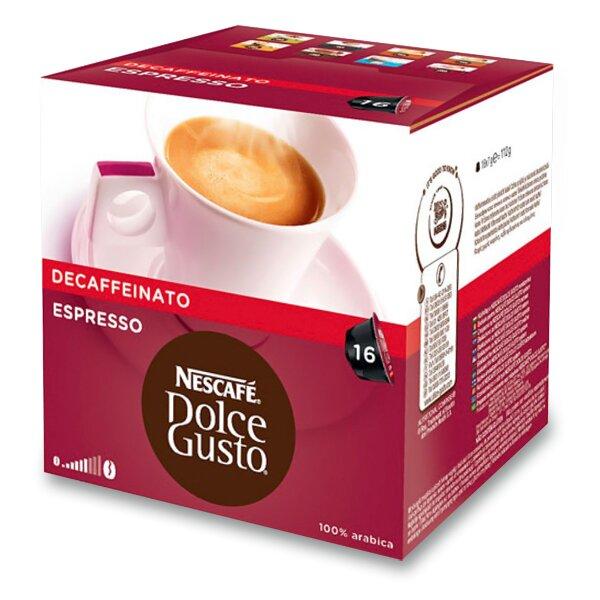 Kávové kapsle Nescafé Dolce Gusto Espresso Decaffeinato 16 kapslí