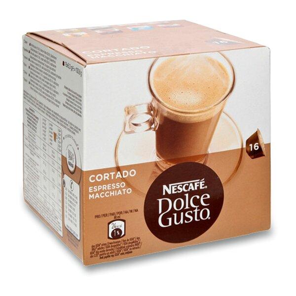 Kávové kapsle Nescafé Dolce Gusto Cortado 16 kapslí