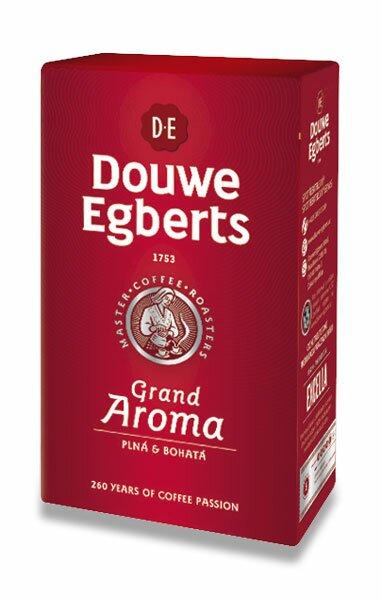 Mletá káva Douwe Egberts Grand Aroma 250 g