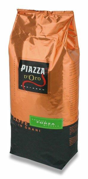 Zrnková káva Piazza d´Oro Forza 1 kg