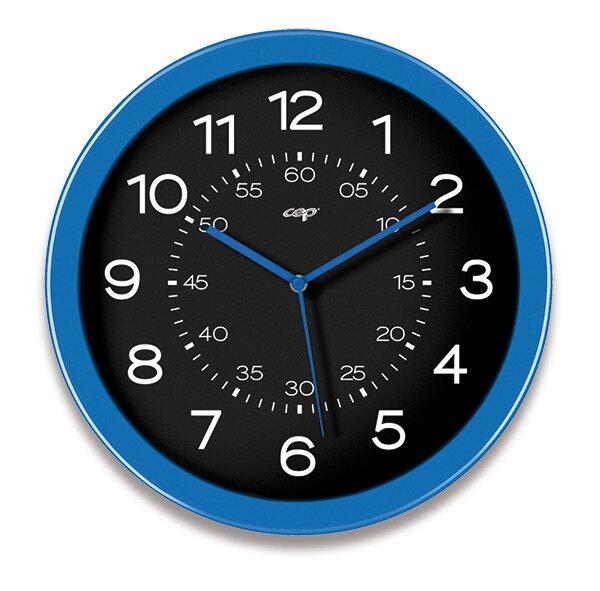 Nástěnné hodiny Cep Pro Gloss modré