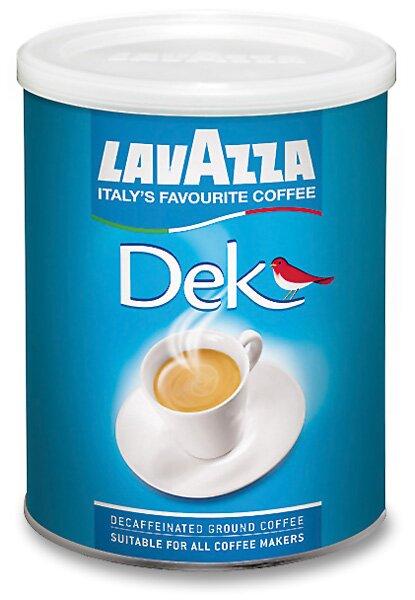 Bezkofeinová mletá káva Lavazza Decaffeinato 250 g