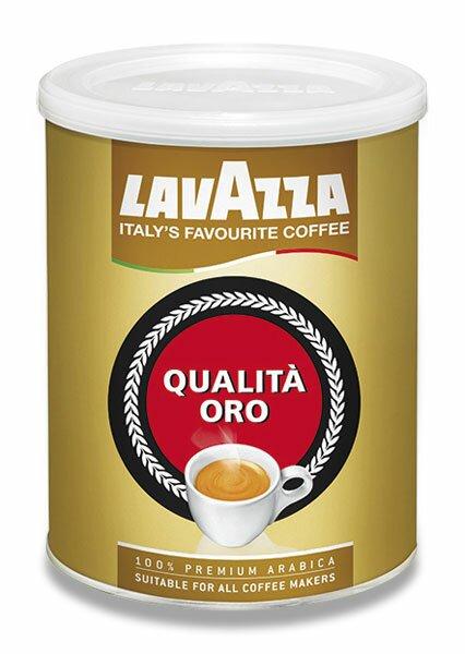 Mletá káva Lavazza Qualita Oro dóza, 250 g