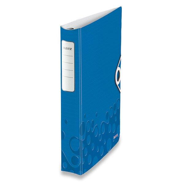 4 - kroužkový pořadač Leitz Active Wow modrý
