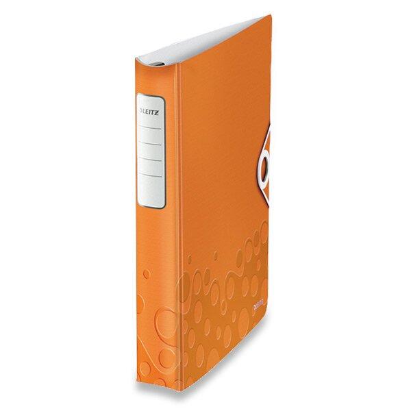 4 - kroužkový pořadač Leitz Active Wow oranžový