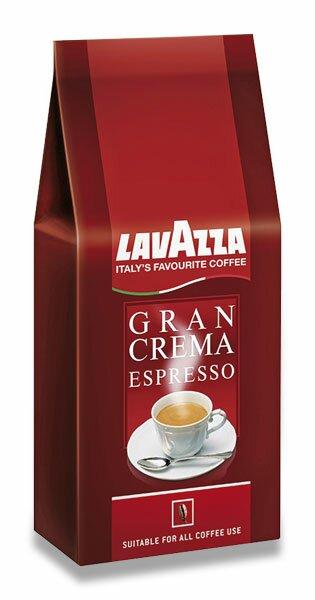 Zrnková káva Lavazza Gran Crema Espresso 1 kg