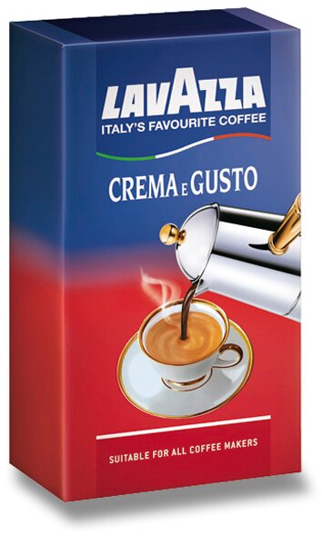 Mletá káva Lavazza Crema E Gusto 250 g
