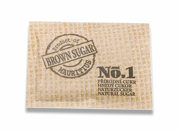 Porcovaný třtinový cukr Helma 200 ks