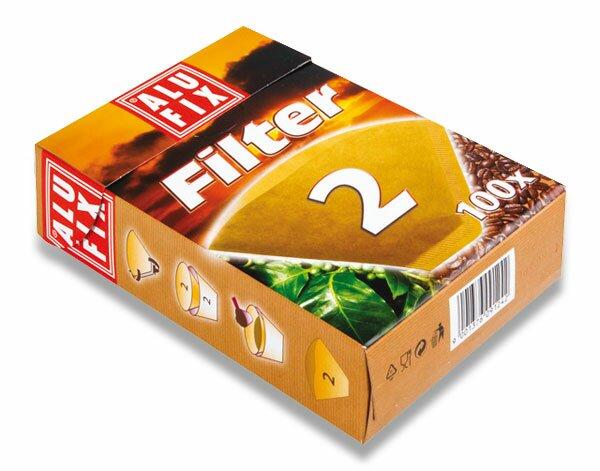 Kávové filtry Alufix č. 2 100 ks
