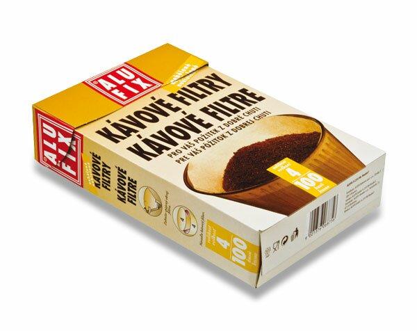 Kávové filtry Alufix č.4 100 ks