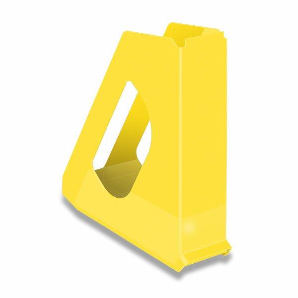 Stojan na katalogy Vivida žlutý