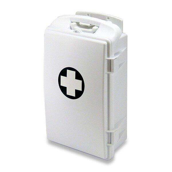 Přenosná lékárnička plastová 430 x 280 x 140 mm, bez náplně