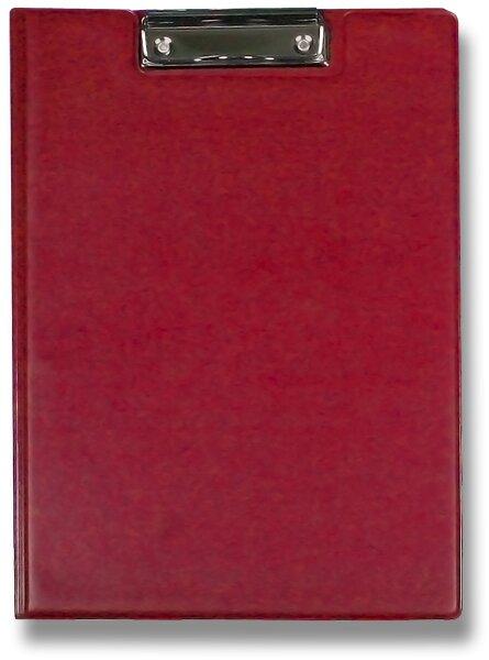 Psací desky s klipem PP Titan červené