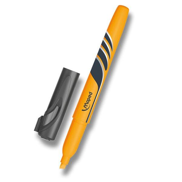Zvýrazňovač Maped Fluo Peps Pen oranžový