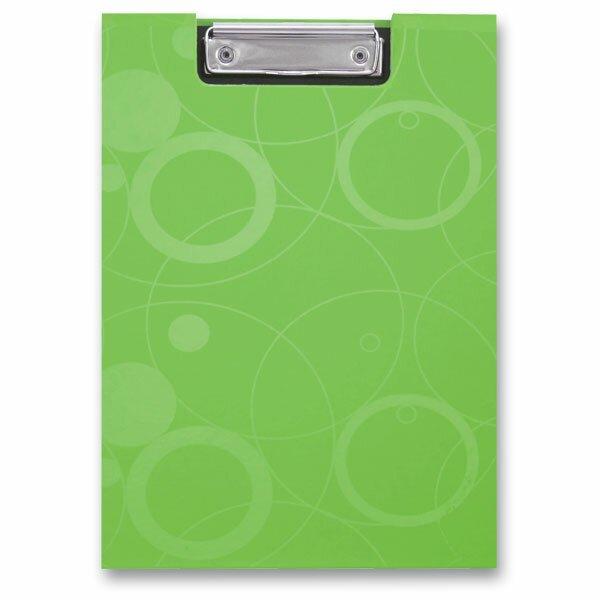 Psací desky s klipem PP karton Neo Colori zelené