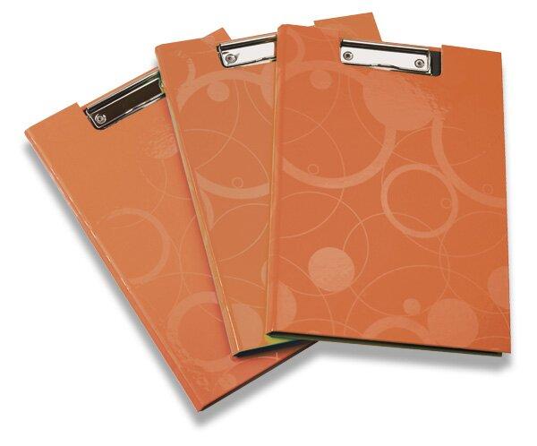 Psací podložka Neo Colori uzavíratelná oranžová