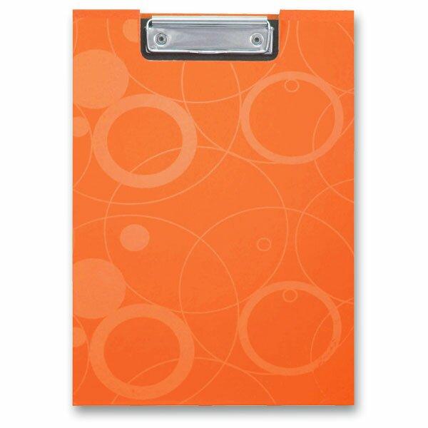 Psací desky s klipem PP karton Neo Colori oranžové