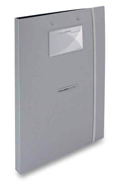 Desky s klipem FolderMate Style Plus stříbrné