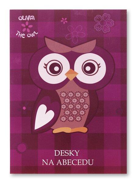 Desky na abecedu The Owl Olivia