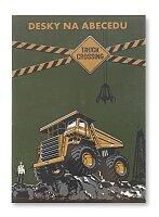 Desky na abecedu Truck Crossing