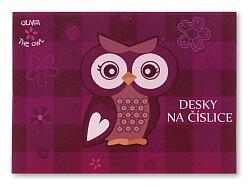 Desky na číslice The Owl Olivia