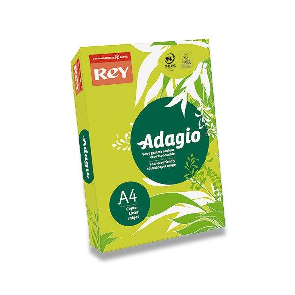 Barevný papír Rey Adagio zelený