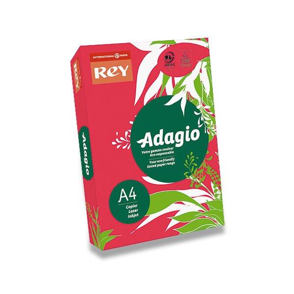 Barevný papír Rey Adagio červený
