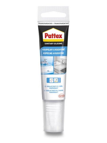 Sanitární silikon Pattex Mini mini tuba 50 ml, transparentní