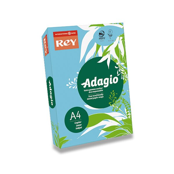 Barevný papír Rey Adagio modrý