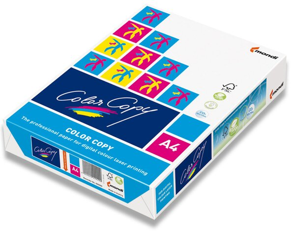 Satinovaný papír Color Copy A4, 250 g, 125 listů