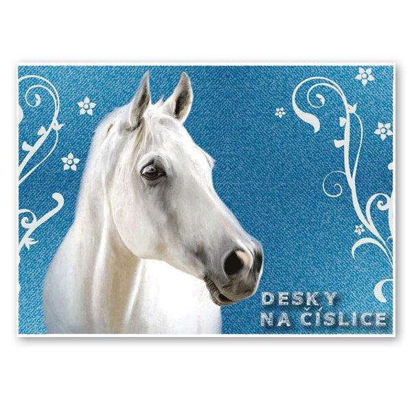 Desky na číslice Kůň