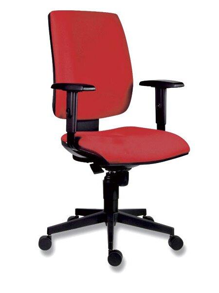Kancelářská židle Antares 1380 Syn Flute červená