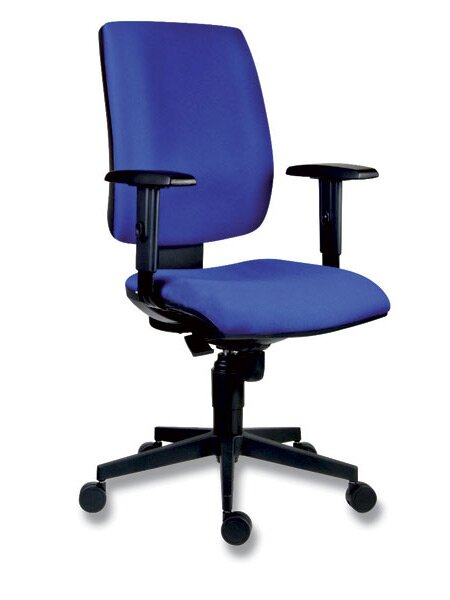 Kancelářská židle Antares 1380 Syn Flute modrá