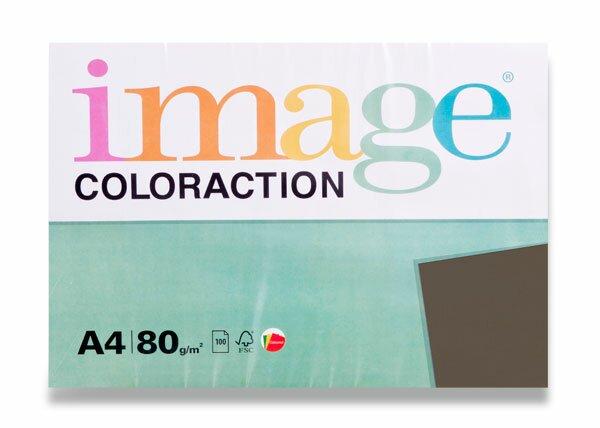 Hnědý papír Image Coloraction Mix A4, 80 g, 100 listů