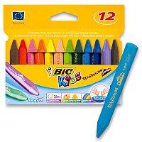 Voskové pastely Bic Kids Plastidecor Triangle