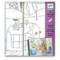 Vyskakovací obrázky Djeco - Hra na schovávanou