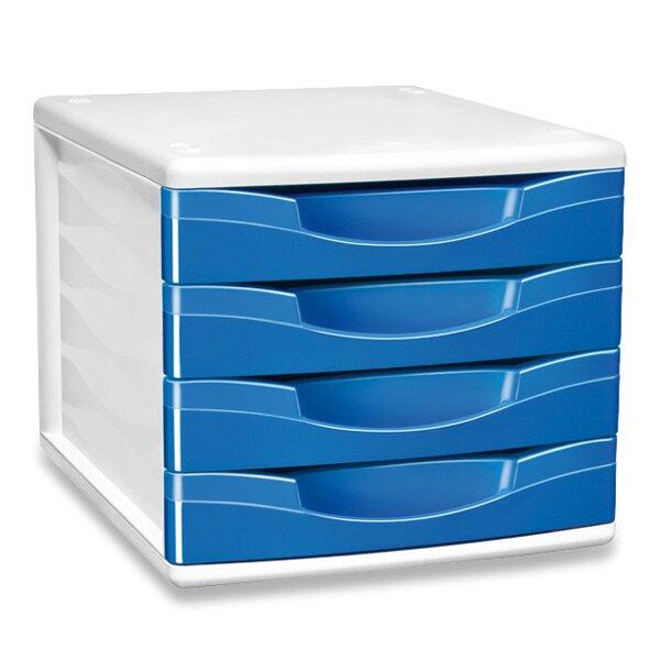 Zásuvkový box Cep Pro Gloss modrý