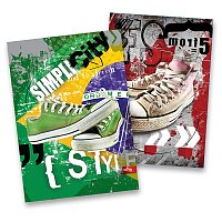 Záznamní kniha Premium Sneakers
