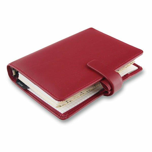 Osobní diář Filofax Metropol červený