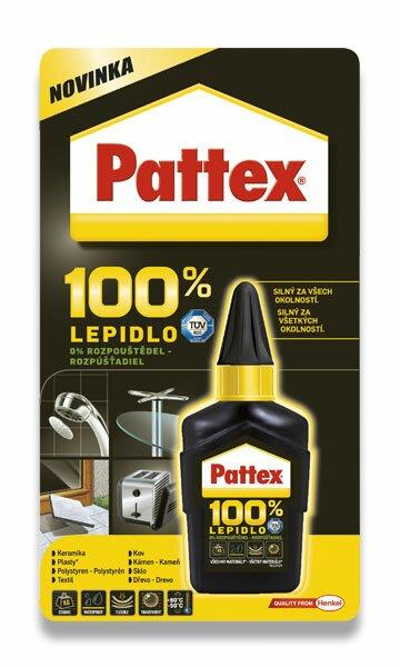Tekuté lepidlo Pattex 100% 50 g
