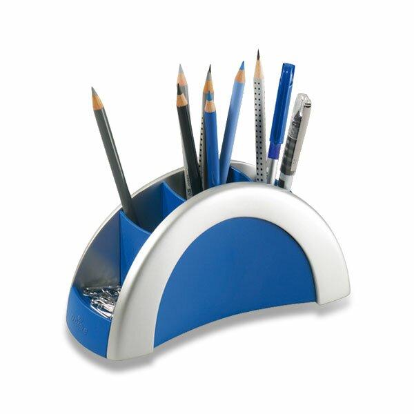 Stojánek na psací potřeby Durable Pen Holder stříbrný