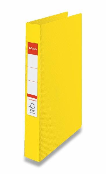 2-kroužkový pořadač Esselte žlutý